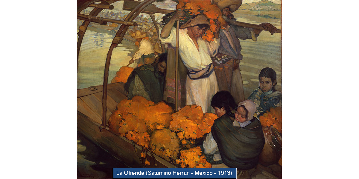 La Ofrenda (Saturnino Herrán - México - 1913).png